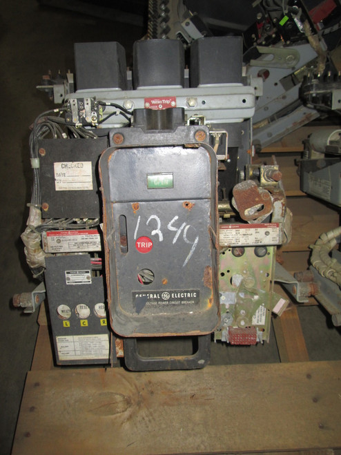 AKRU-7D-30S GE 800A EO/DO Air Circuit Breaker (No Trip Unit)