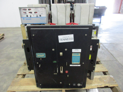K-3000S ITE Red 3000A EO/DO LS Air Circuit Breaker
