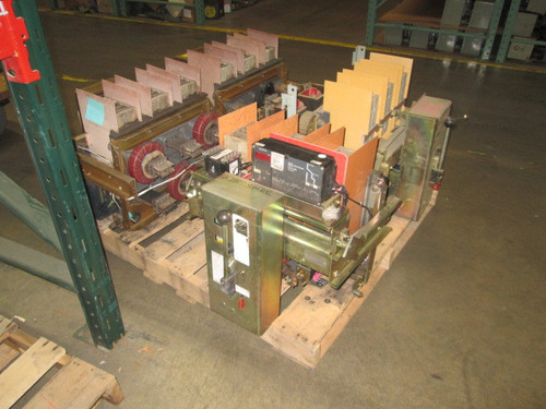LA-1600A Siemens-Allis 1600A MO/DO LI Air Circuit Breaker