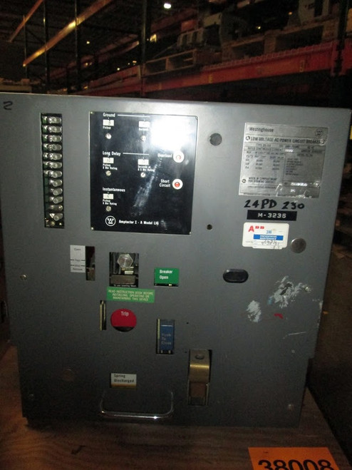 DS-206 Westinghouse 800A MO/DO LIG Air Circuit Breaker
