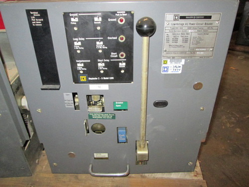 DS-416 Square D 1600A MO/DO LSIG Air Circuit Breaker.