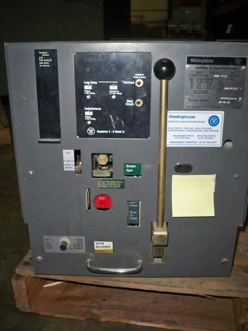 DS-416 Westinghouse 1600A MO/DO LI Air Circuit Breaker