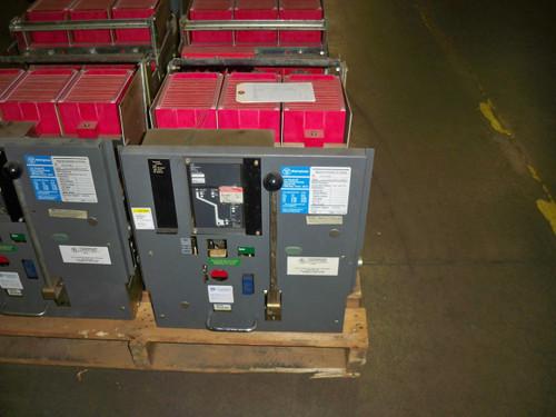 DS-416 Westinghouse 1600A MO/DO 1000A Cont. Current LI Air Circuit Breaker W/Digitrip RMS