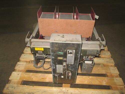 LA-3200A Siemens-Allis 3200A EO/DO LI Gold Air Circuit Breaker