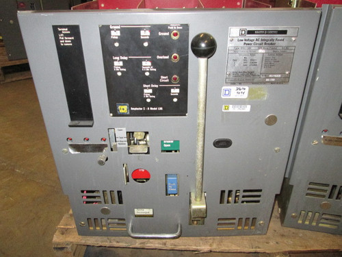 DSL-206 Square D 800A MO/DO 1200A Fuses LSG Air Circuit Breaker
