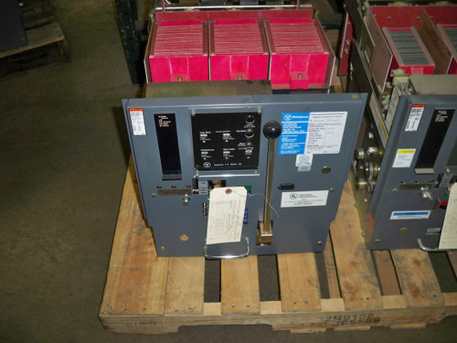 DSL-416 Westinghouse 1600A MO/DO 2500A Fuses LSI Air Circuit Breaker