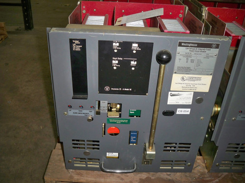 DSL-206 Westinghouse 800A MO/DO 1600A Fuses LS Air Circuit Breaker