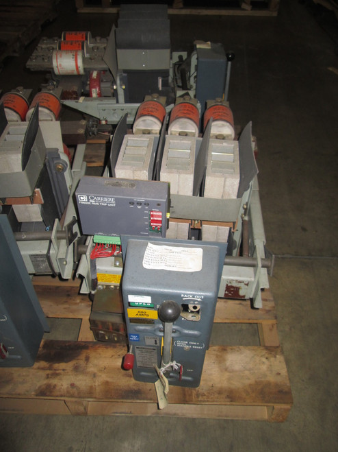 LA-600F Allis-Chalmers 600A MO/DO 1600A Fuses LSIG Air Circuit Breaker