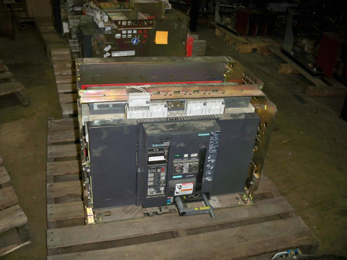 WLF3A340 Siemens 4000A MO/DO LSIG Insulated Case Circuit Breaker W/Cubicle
