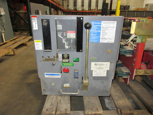 DSL-206 Westinghouse 800A MO/DO 1600A Fuses LSI Air Circuit Breaker