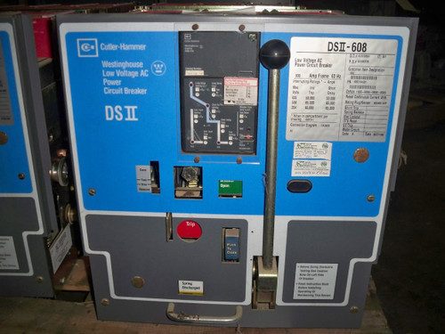 DSII-608 Cutler-Hammer/W-HSE 800A MO/DO 600A Cont. Current LSIG Air Circuit Breaker