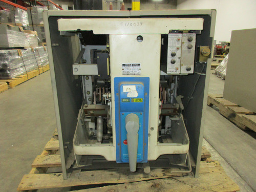 AK-3-50 GE 1600A MO/DO LIG Air Circuit Breaker W/Cell