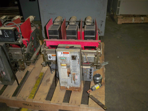RLF-800 Siemens-Allis 800A EO/DO 600A Fuses LSI Air Circuit Breaker