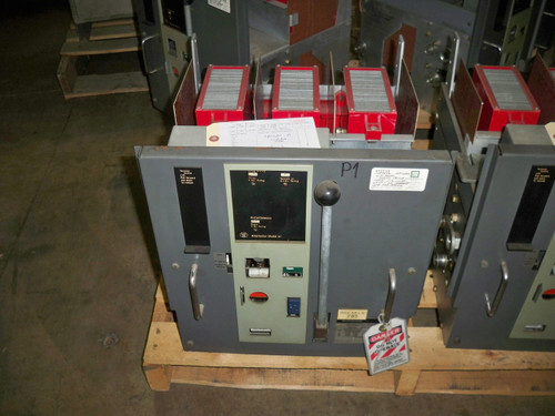 DS-206 Westinghouse 600A Frame 200A Cont. Current MO/DO LI Air Circuit Breaker