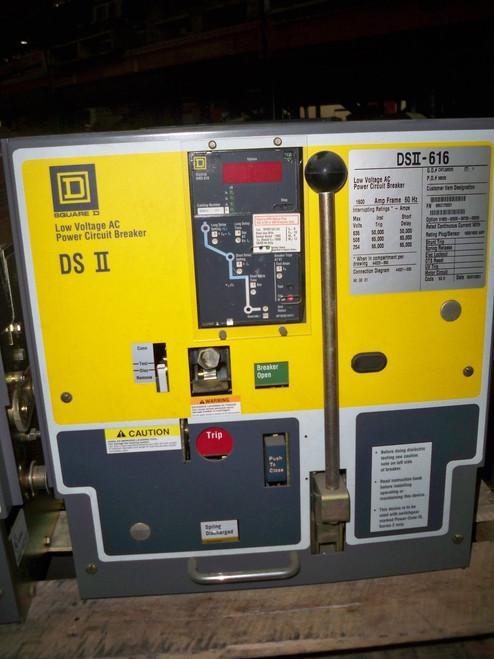 DSII-616 Square D 1600A MO/DO LS Air Circuit Breaker
