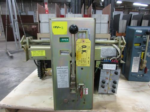LA-1600A Siemens-Allis 1600A MO/DO LSG Air Circuit Breaker