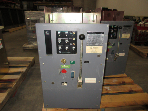 DS-632 Westinghouse 3200A Frame MO/FM 2400A Cont. Current LSIG Air Circuit Breaker