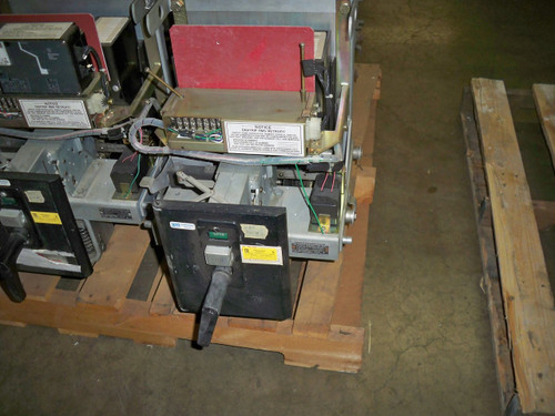 DB-25 Westinghouse 600A MO/DO Air Circuit Breaker (No Trip Unit)