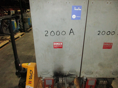 50 DHP 250 Westinghouse 2000A 5KV Air Circuit Breaker