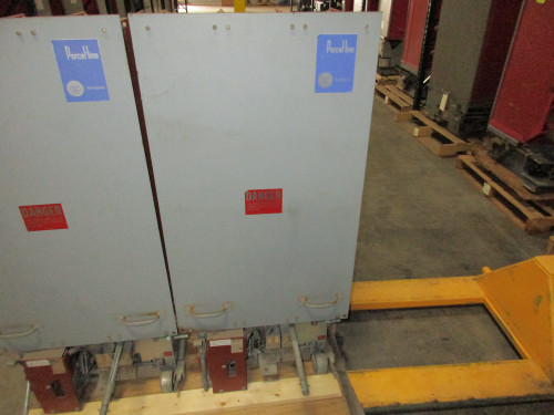 50 DHP 250 Westinghouse 1200A 4.76KV Air Circuit Breaker
