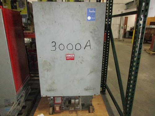 50 DHP 350 Westinghouse 3000A 5KV Air Circuit Breaker