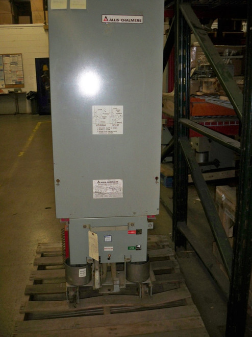 MA-250C Allis-Chalmers 1200A 4.76KV EO/DO Air Circuit Breaker (Broken Contactor)