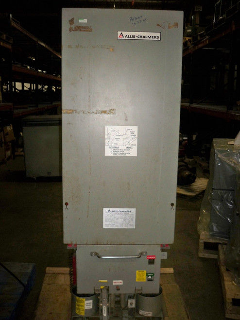 MA-250C-1 Allis-Chalmers 2000A 4.76KV EO/DO Air Circuit Breaker