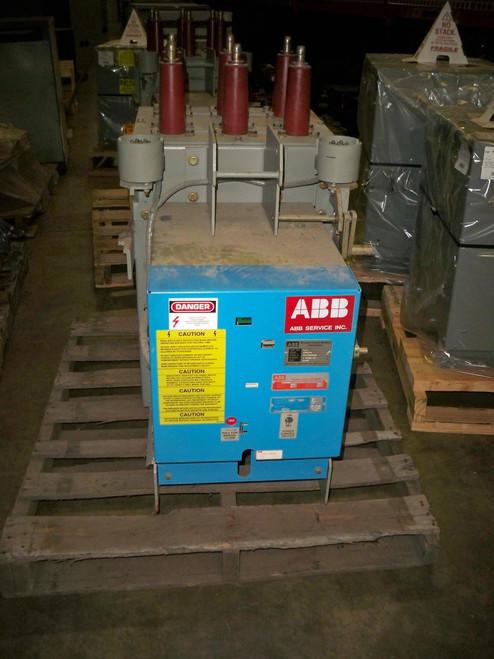GE AM5-100 Converted to ABB 5VKB-R-250 1200A 4.76KV Vacuum Circuit Breaker