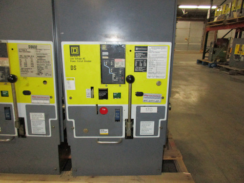 DS-632 Square D 3200A EO/DO LSI Air Circuit Breaker