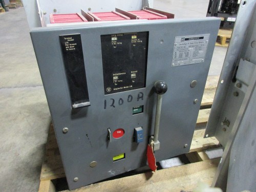 DS-416 Square D 1600A Frame 1200A Cont. Current EO/FM LIG Air Circuit Breaker