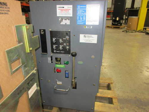DS-632 Westinghouse 3200A EO/DO LSI Air Circuit Breaker (Broken Secondary Disconnect)
