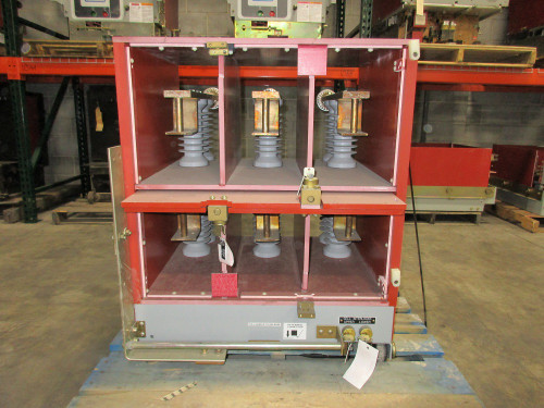 Square D Manual Ground & Test Unit 27KV 2000A For Type VR
