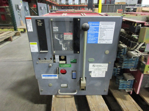 DSL-416 Westinghouse 1600A MO/DO 3000A Fuses LSI Air Circuit Breaker