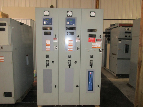 Westinghouse Type DH Metal Clad 2400V Switchgear (#6)