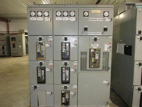 Siemens-Allis Type R Switchgear (#16)