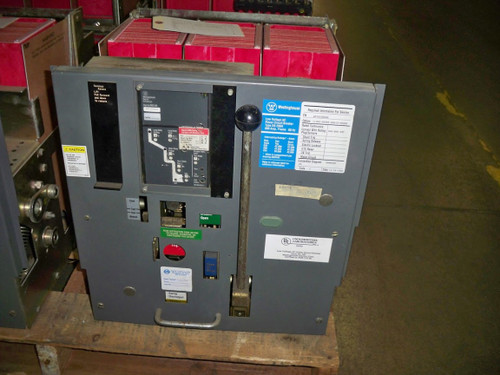 DS-206H Westinghouse 800A MO/DO 400A Cont. Current LSI Air Circuit Breaker