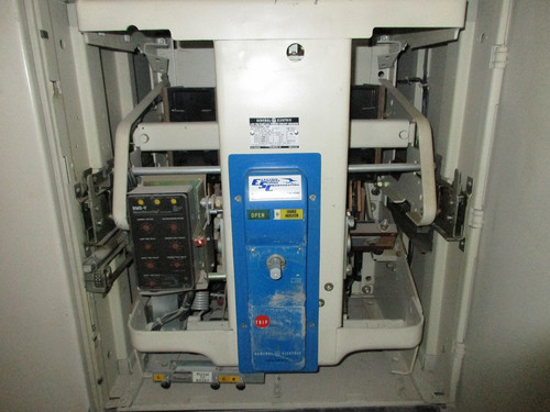 AKU-2A-50-2 GE 1600A MO/DO LSIG Air Circuit Breaker (In Structure)