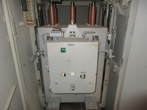 AM-13.8-500-6H GE Magne-Blast 1200A 15KV Air Circuit Breaker (In Structure)
