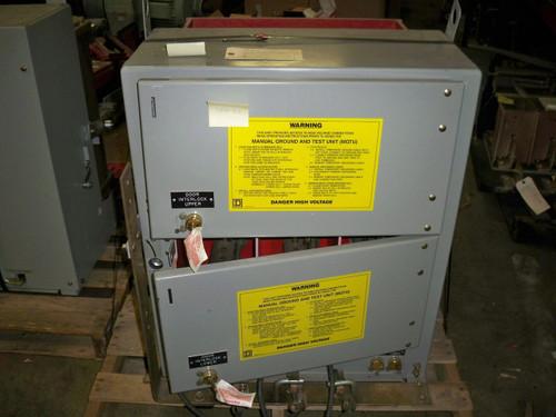 Square D Type VR 1200A 5KV Manual Ground & Test Unit