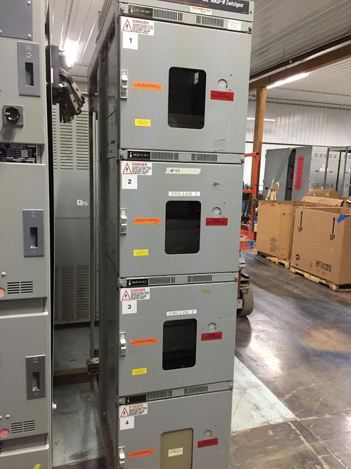 GE AKD-8 Style 3 Single Distribution Section Switchgear (#54)