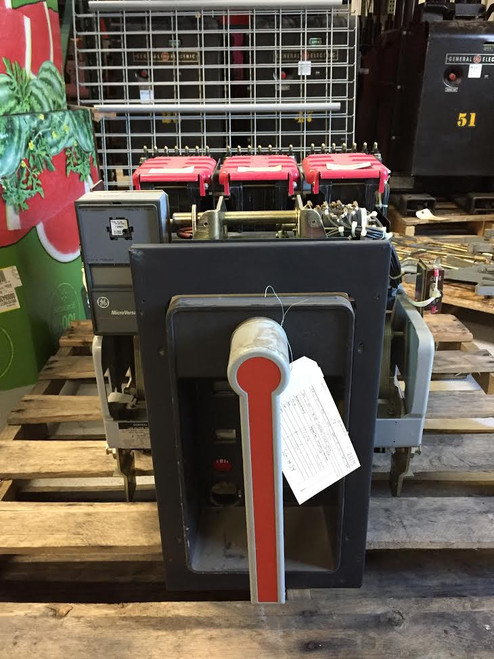 AKR-9D-50H GE 1600A MO/DO LSIG Air Circuit Breaker