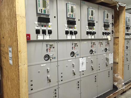 Siemens 8DA10 1250A 38KV SF6 Gas-Insulated Switchgear (#65)