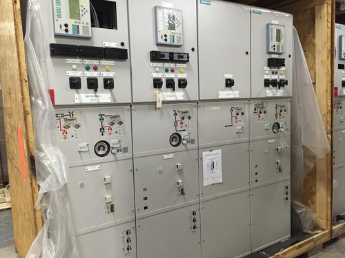 Siemens 8DA10 1250A 38KV SF6 Gas-Insulated Switchgear W/Tie Riser (#66)
