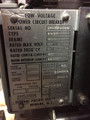 FM-25 Federal Pacific 600A MO/DO 1000A Fuses Air Circuit Breaker W/AC-PRO