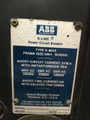 K-600S ABB Red 600A EO/DO LSIG Air Circuit Breaker W/AC-PRO