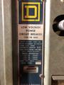 PB-1600 Square D 1600A MO/FM LI Air Circuit Breaker