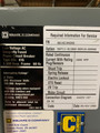 DSL-416 Square D 1600A MO/DO 3000A Fuses  Air Circuit Breaker (No Trip Unit)