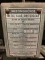 50 DH 350E Westinghouse 3000A 4.76KV Air Circuit Breaker