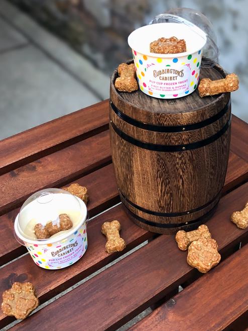 Pup Cup Frozen Treat, P'nut Butter & Banana