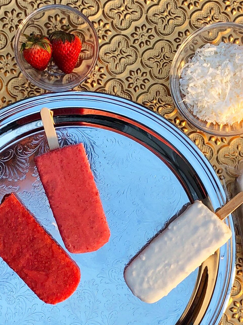 Gourmet Popsicles, Simply Strawberry